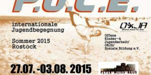internationale Jugendbegegnung P.O.C.E 2015