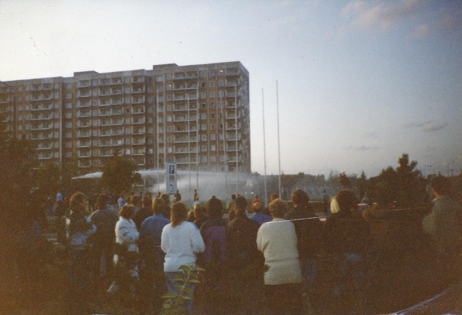 Online-Seminar zum Pogrom von Rostock Lichtenhagen 1992