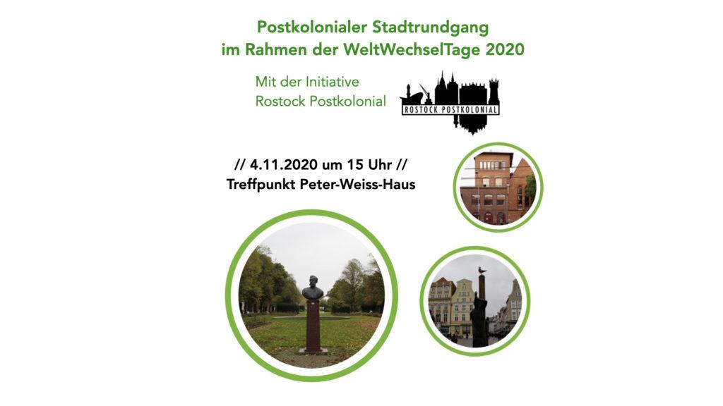 Offener Rundgang mit der Initiative Rostock Postkolonial am 4.11.2020