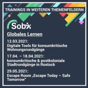 Trainings 2021 Globales Lernen
